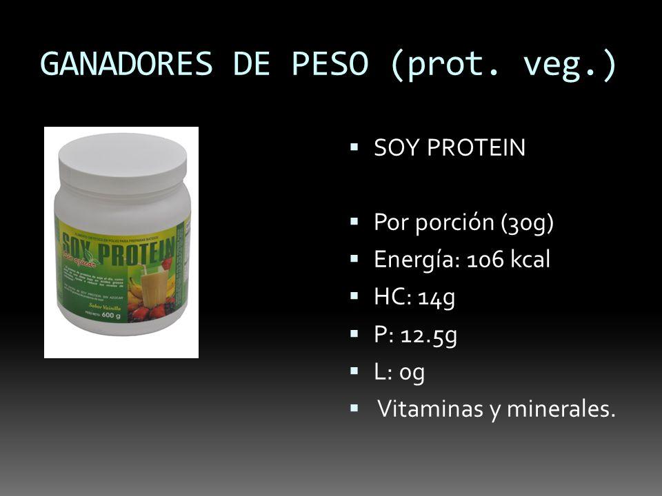 GANADORES DE PESO (prot. veg.)
