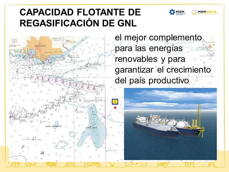 CAPACIDAD FLOTANTE DE REGASIFICACIÓN DE GNL