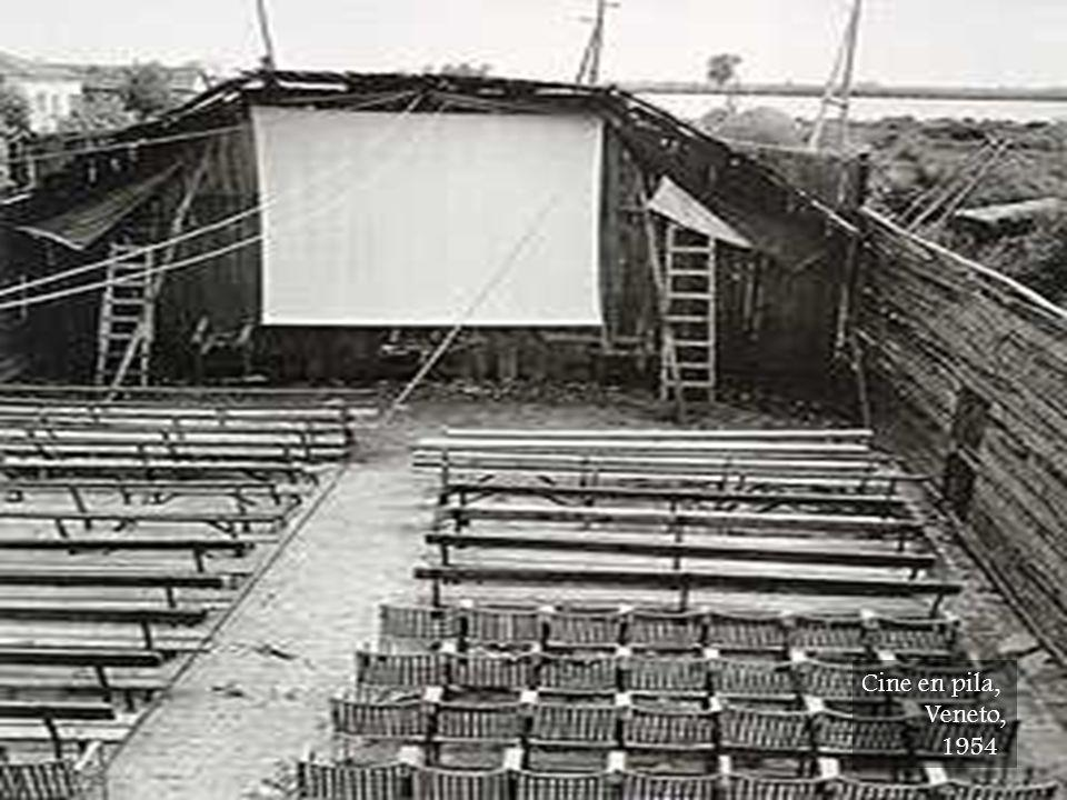Cine en pila, Veneto, 1954