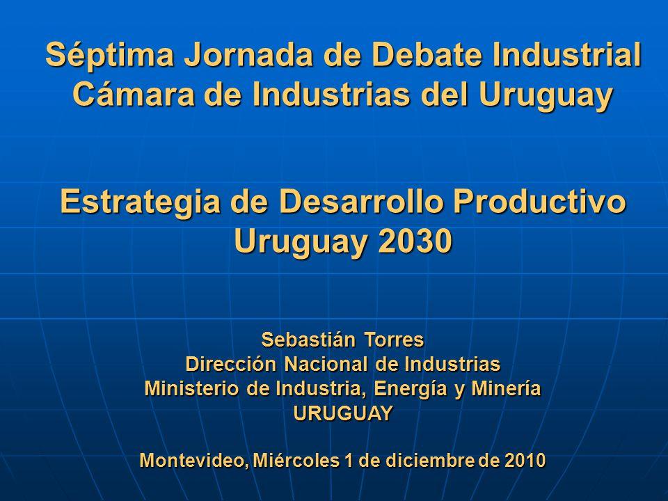 Séptima Jornada de Debate Industrial Cámara de Industrias del Uruguay