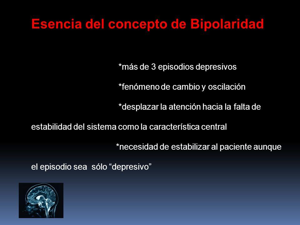 Esencia del concepto de Bipolaridad