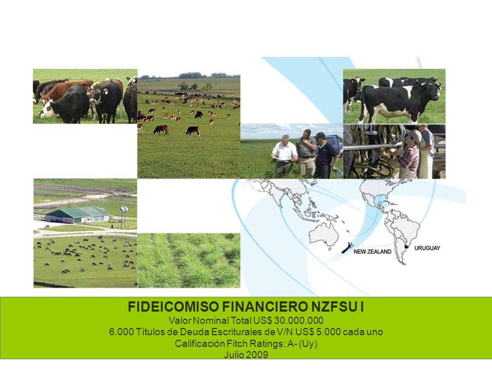 FIDEICOMISO FINANCIERO NZFSU I Valor Nominal Total US$ 30. 000. 000 6