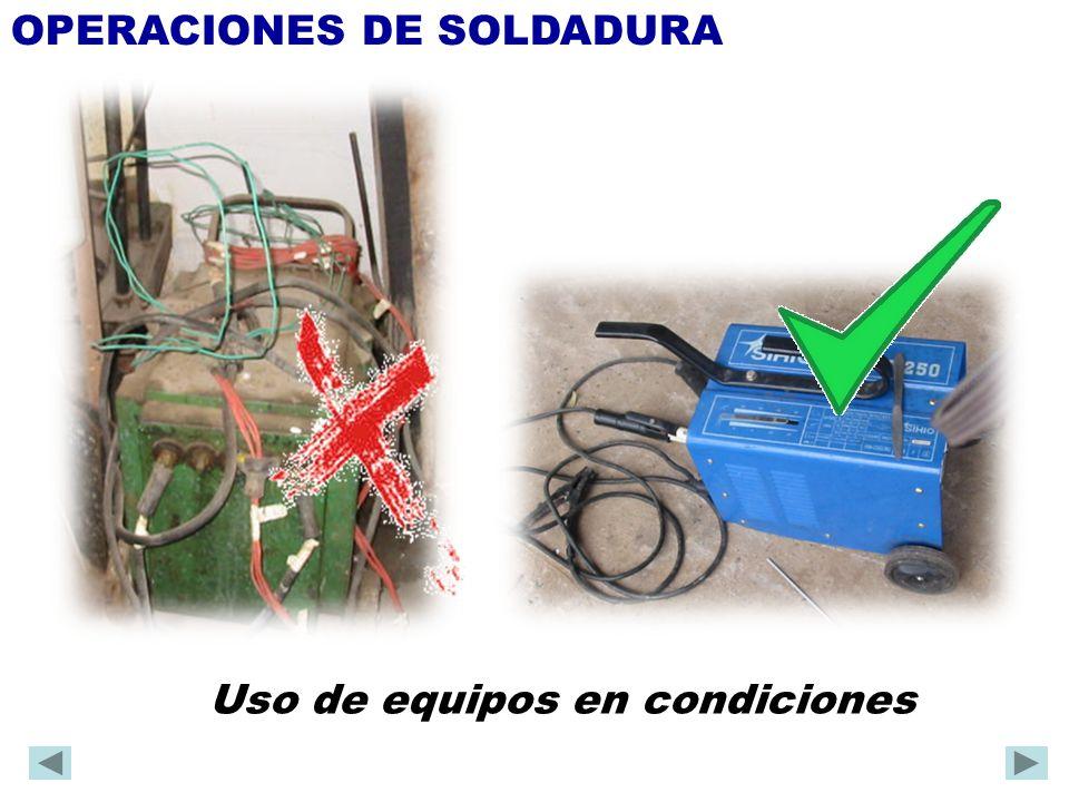 OPERACIONES DE SOLDADURA