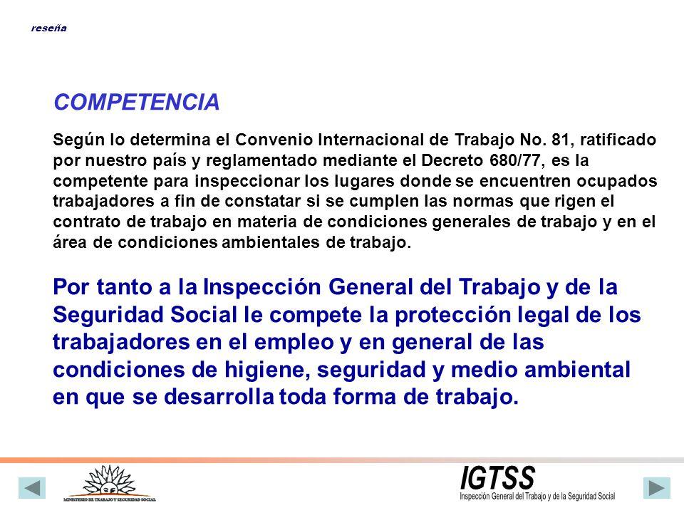 Inspección General del Trabajo y de la Seguridad Social