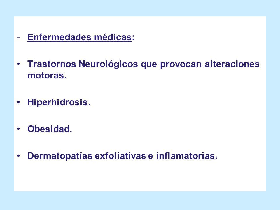 Enfermedades médicas: