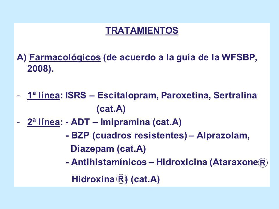 Hidroxina ) (cat.A) TRATAMIENTOS
