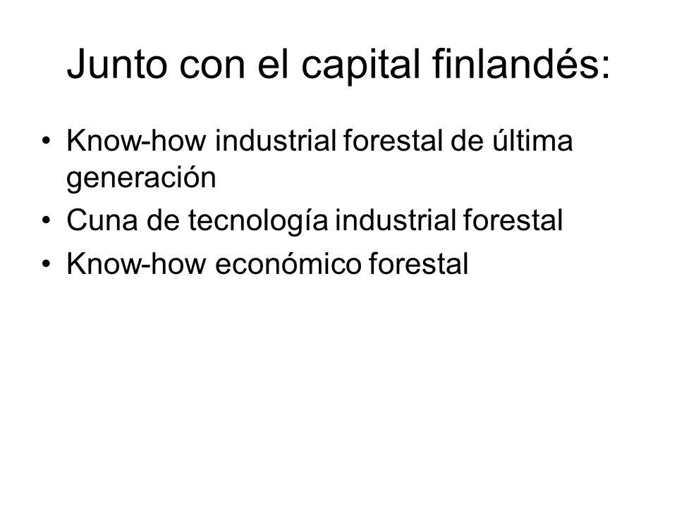 Junto con el capital finlandés: