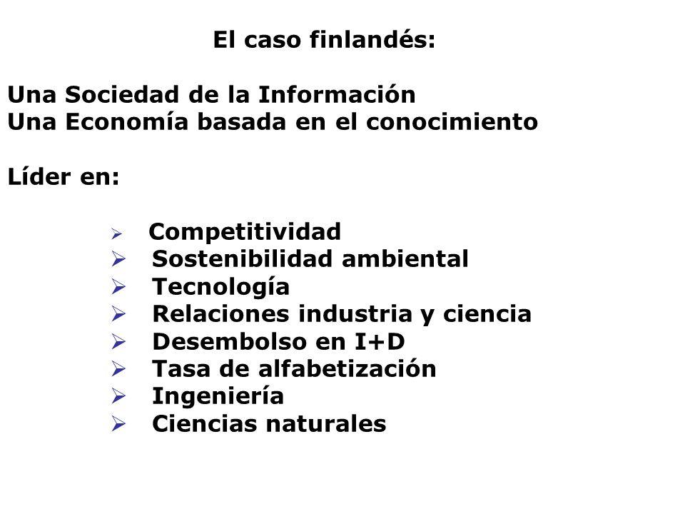 Una Sociedad de la Información Una Economía basada en el conocimiento