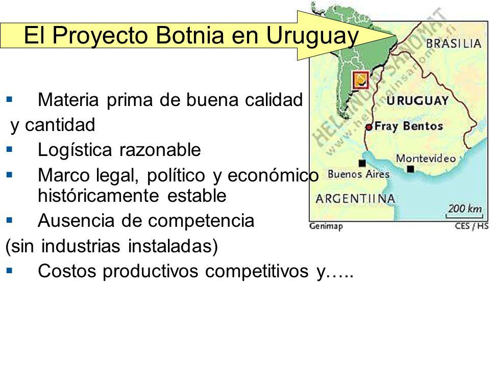 El Proyecto Botnia en Uruguay