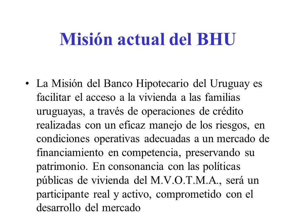 Misión actual del BHU