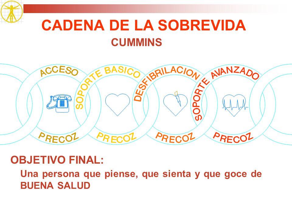 CADENA DE LA SOBREVIDA CUMMINS OBJETIVO FINAL: