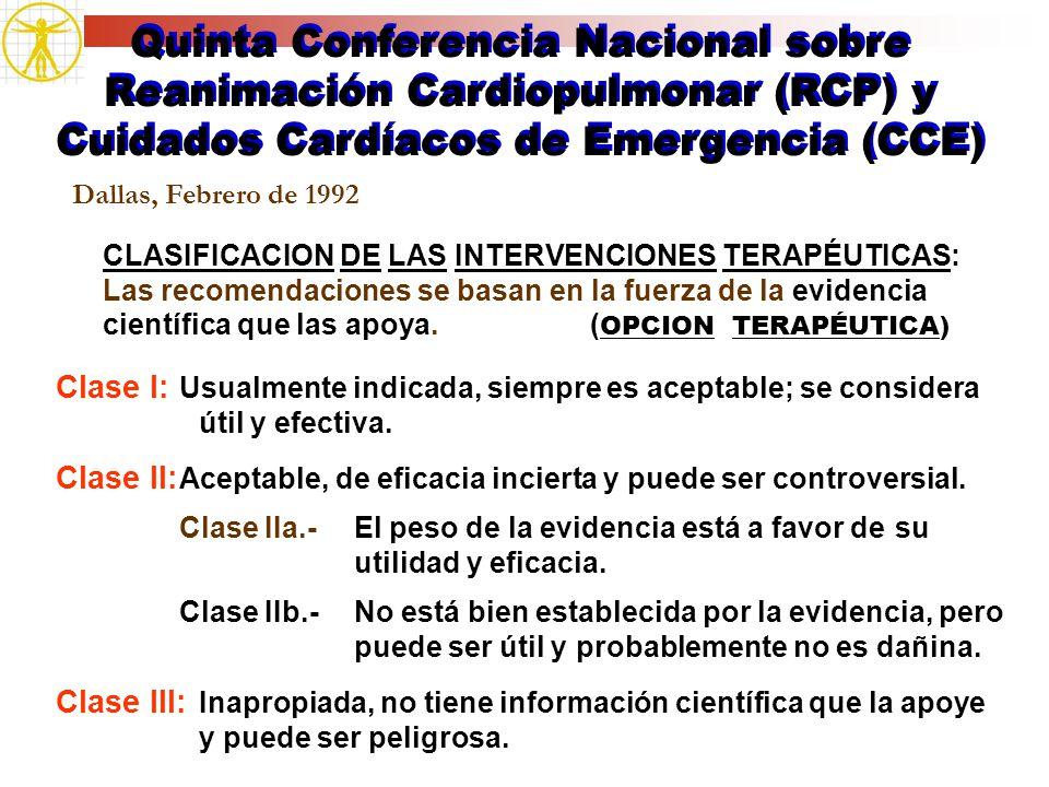 Quinta Conferencia Nacional sobre Reanimación Cardiopulmonar (RCP) y Cuidados Cardíacos de Emergencia (CCE)