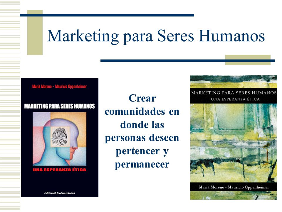 Marketing para Seres Humanos