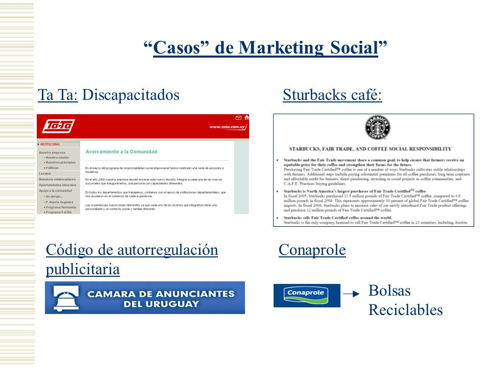Casos de Marketing Social