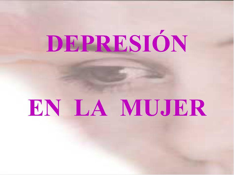 DEPRESIÓN EN LA MUJER