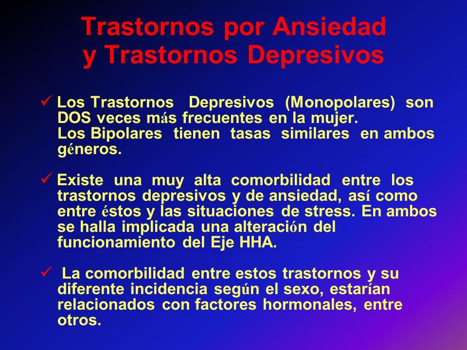 Trastornos por Ansiedad y Trastornos Depresivos
