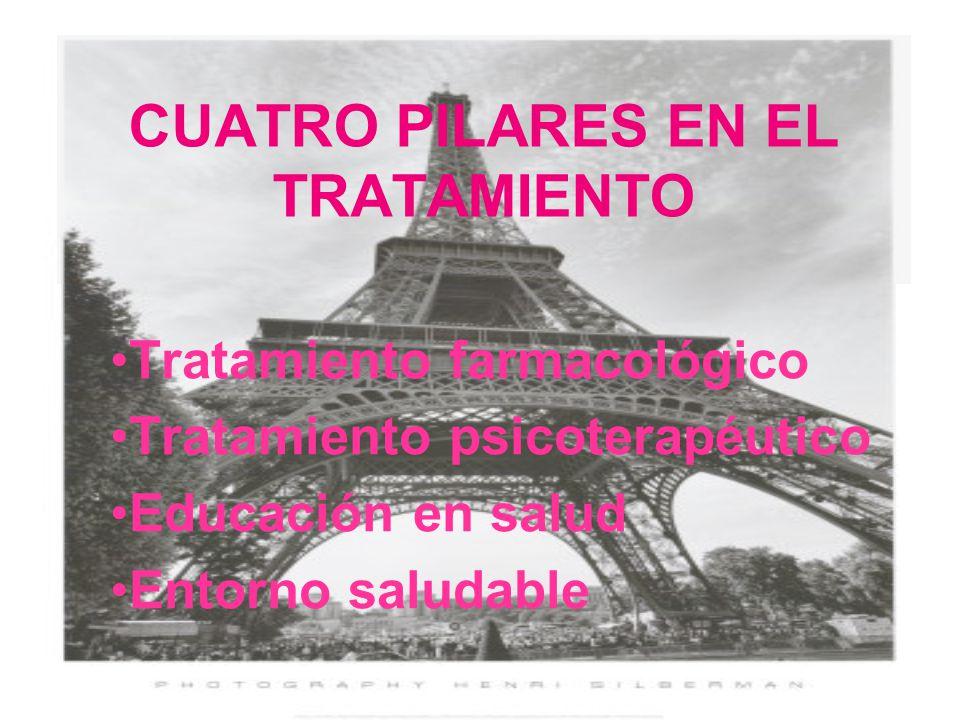 CUATRO PILARES EN EL TRATAMIENTO