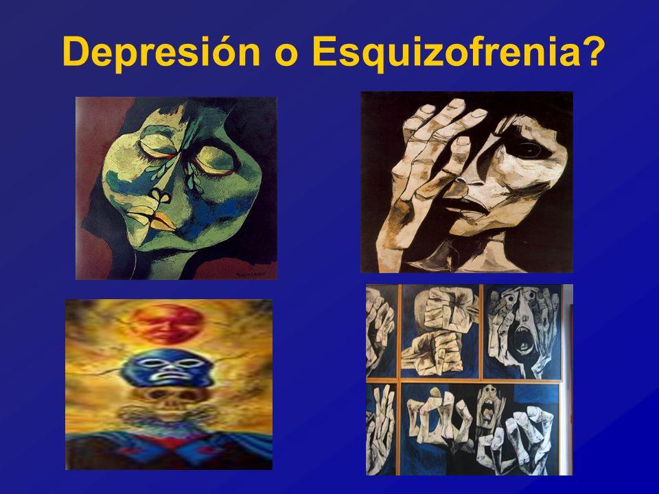 Depresión o Esquizofrenia