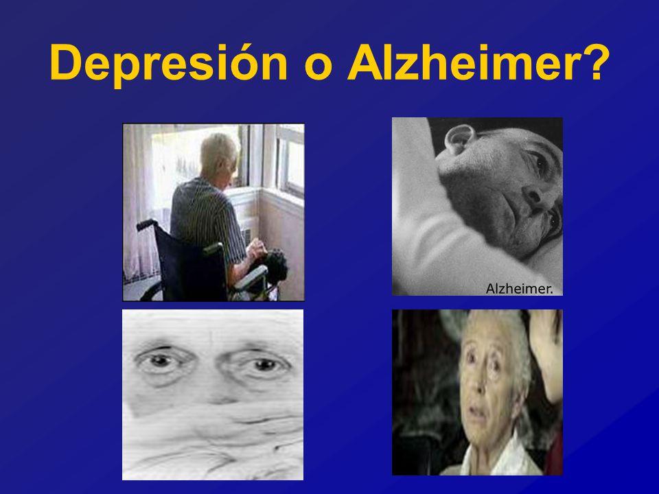 Depresión o Alzheimer