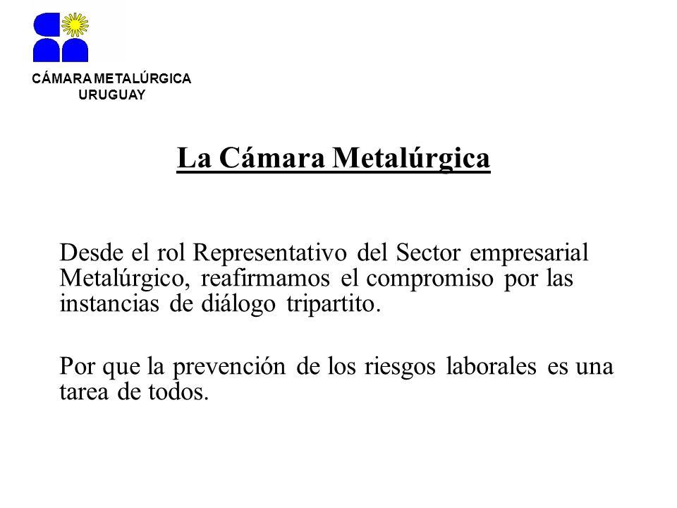 CÁMARA METALÚRGICA URUGUAY. La Cámara Metalúrgica.