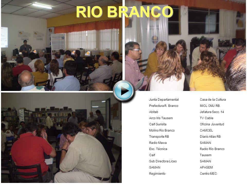 RIO BRANCO Junta Departamental Prefectura R. Branco Abitab