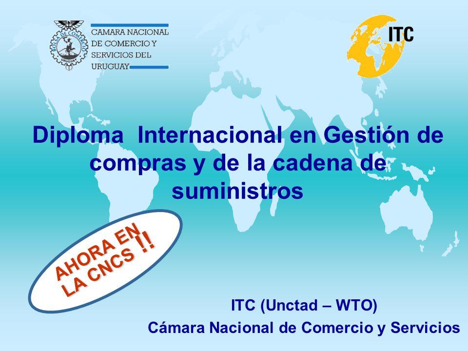 ITC (Unctad – WTO) Cámara Nacional de Comercio y Servicios