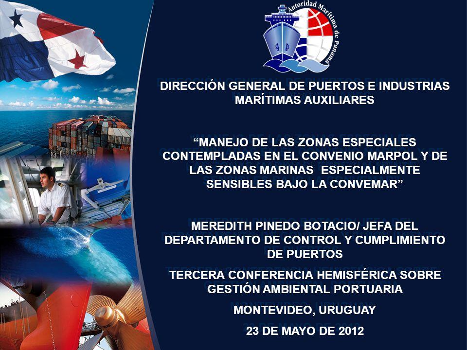 DIRECCIÓN GENERAL DE PUERTOS E INDUSTRIAS MARÍTIMAS AUXILIARES