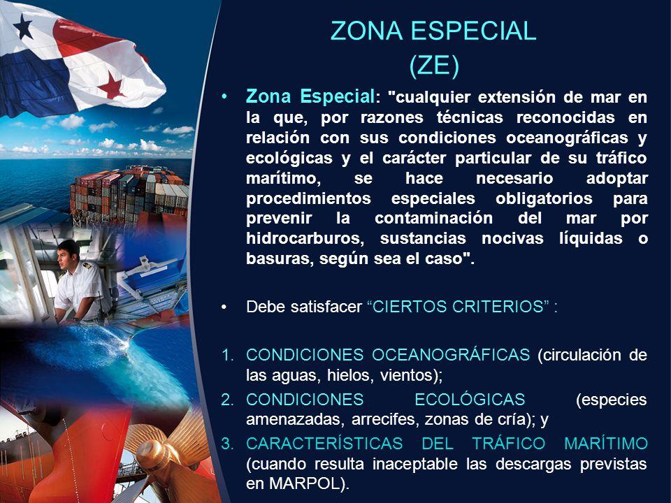 ZONA ESPECIAL (ZE)