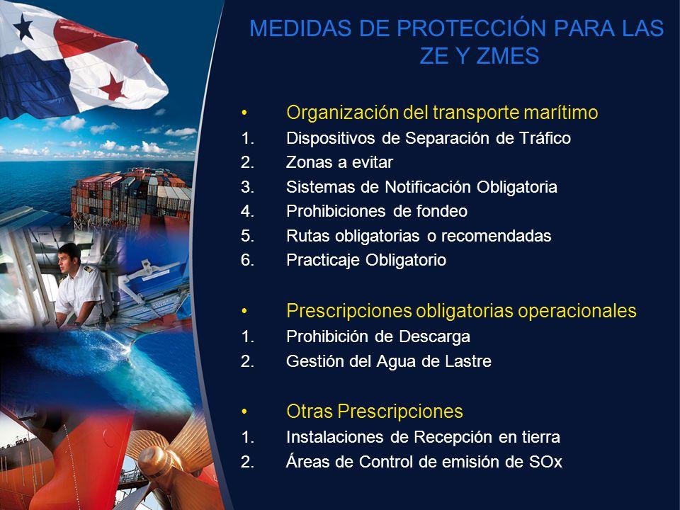 MEDIDAS DE PROTECCIÓN PARA LAS ZE Y ZMES