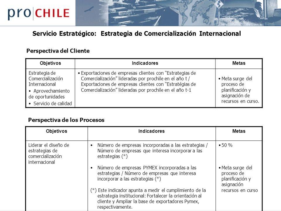 Servicio Estratégico: Estrategia de Comercialización Internacional