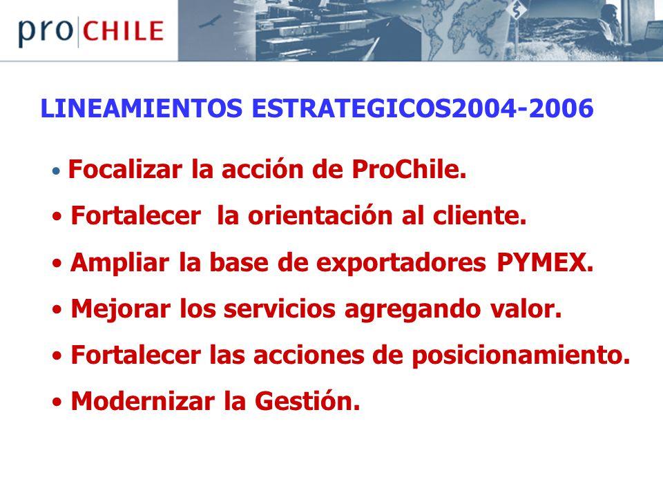 LINEAMIENTOS ESTRATEGICOS2004-2006
