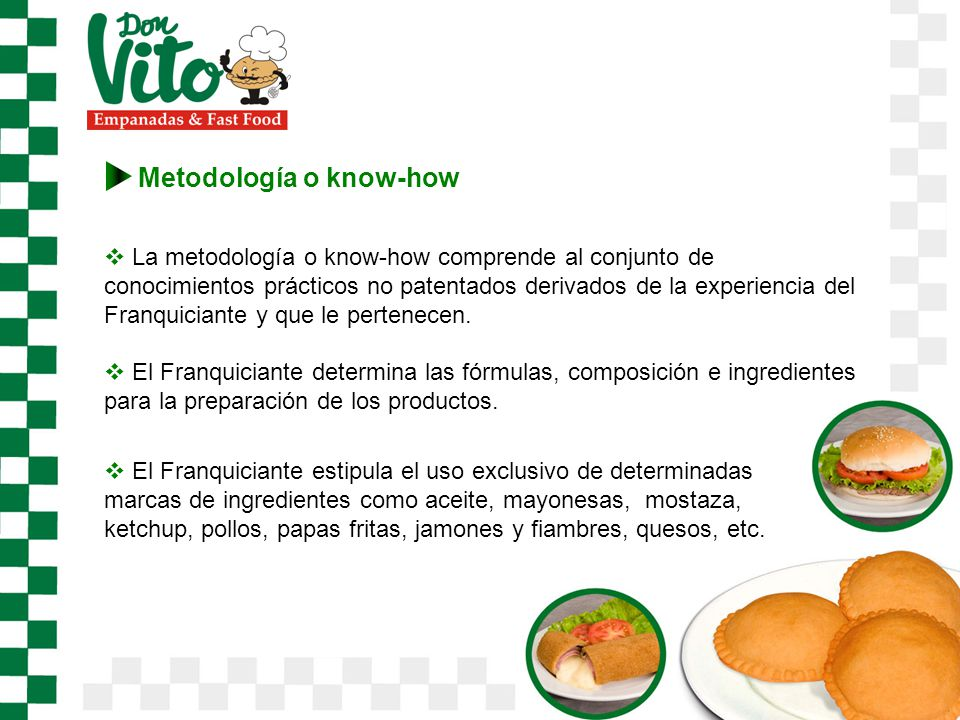 Metodología o know-how