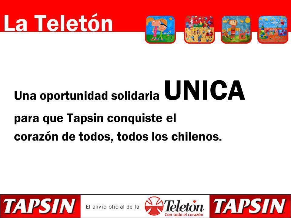 La Teletón Una oportunidad solidaria UNICA