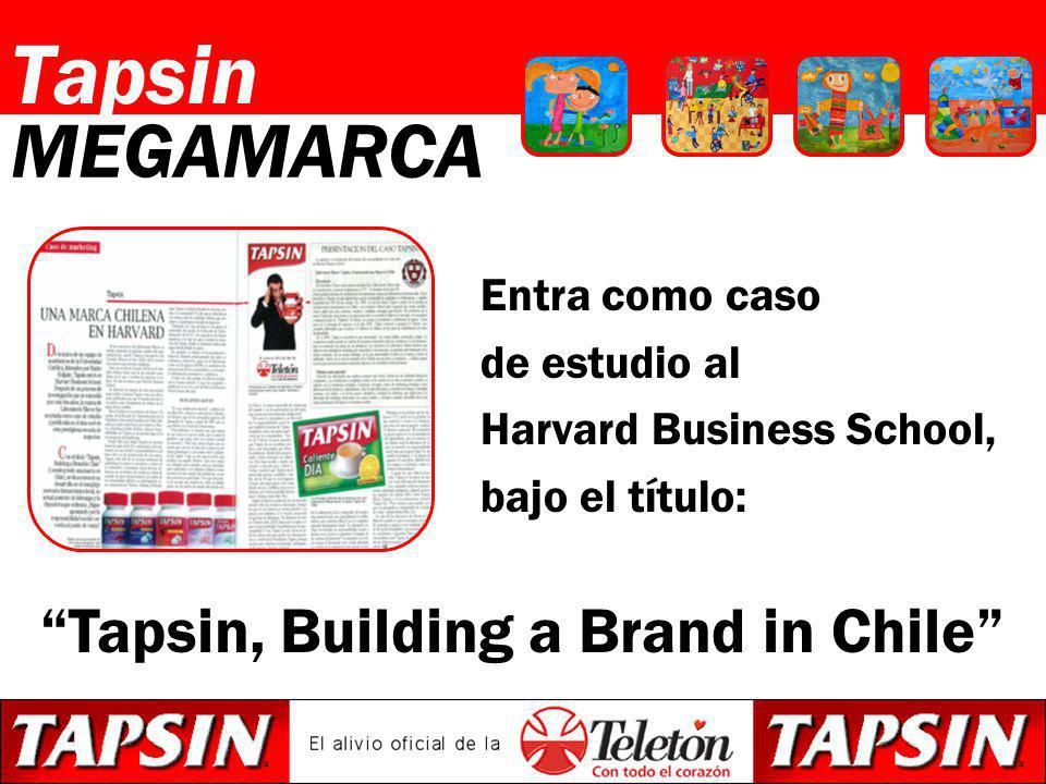 Tapsin, Building a Brand in Chile