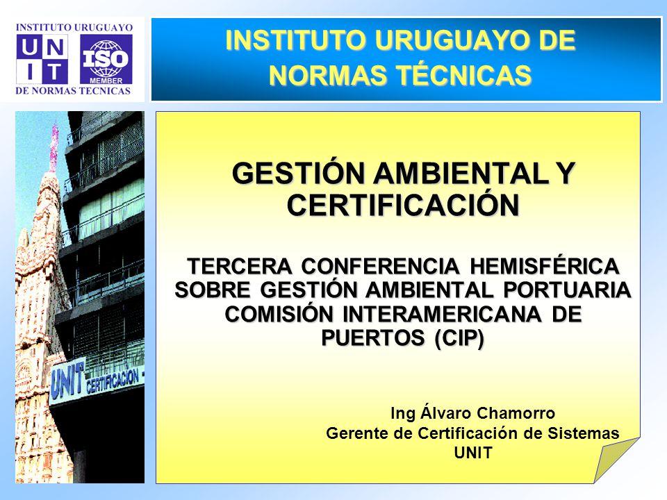 INSTITUTO URUGUAYO DE NORMAS TÉCNICAS