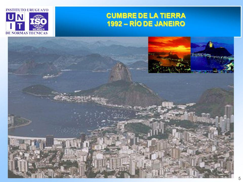 CUMBRE DE LA TIERRA 1992 – RÍO DE JANEIRO