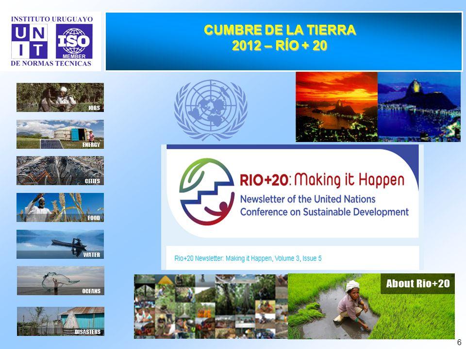 CUMBRE DE LA TIERRA 2012 – RÍO + 20