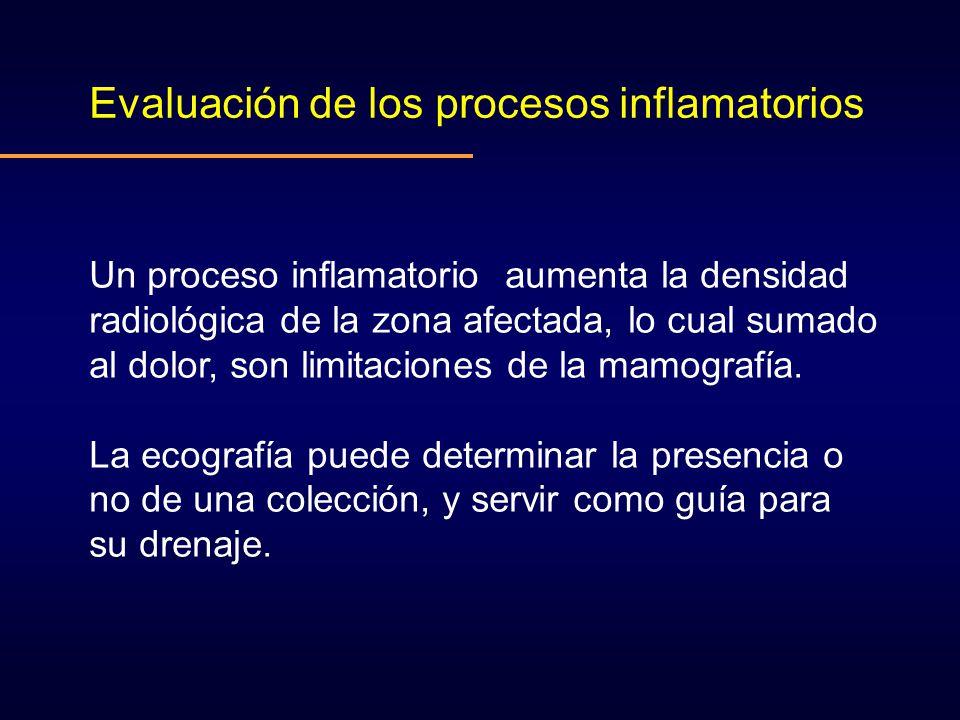 Evaluación de los procesos inflamatorios