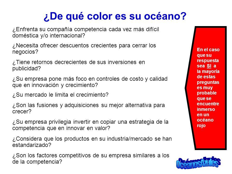 ¿De qué color es su océano