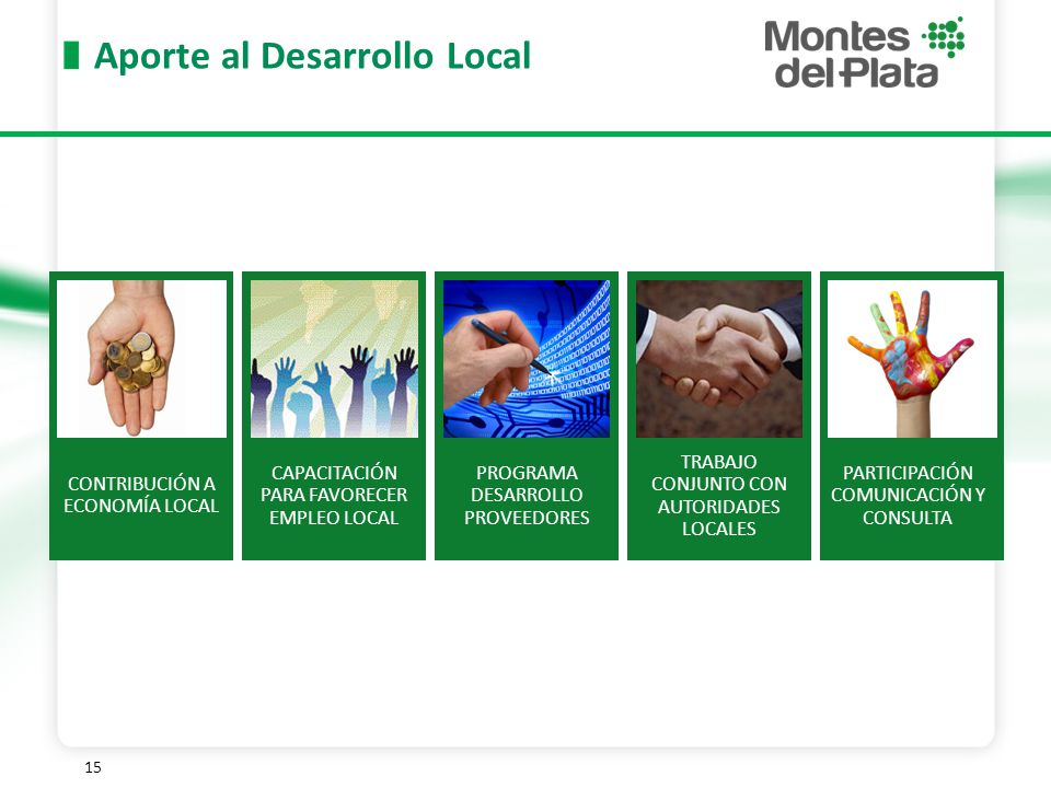 Aporte al Desarrollo Local