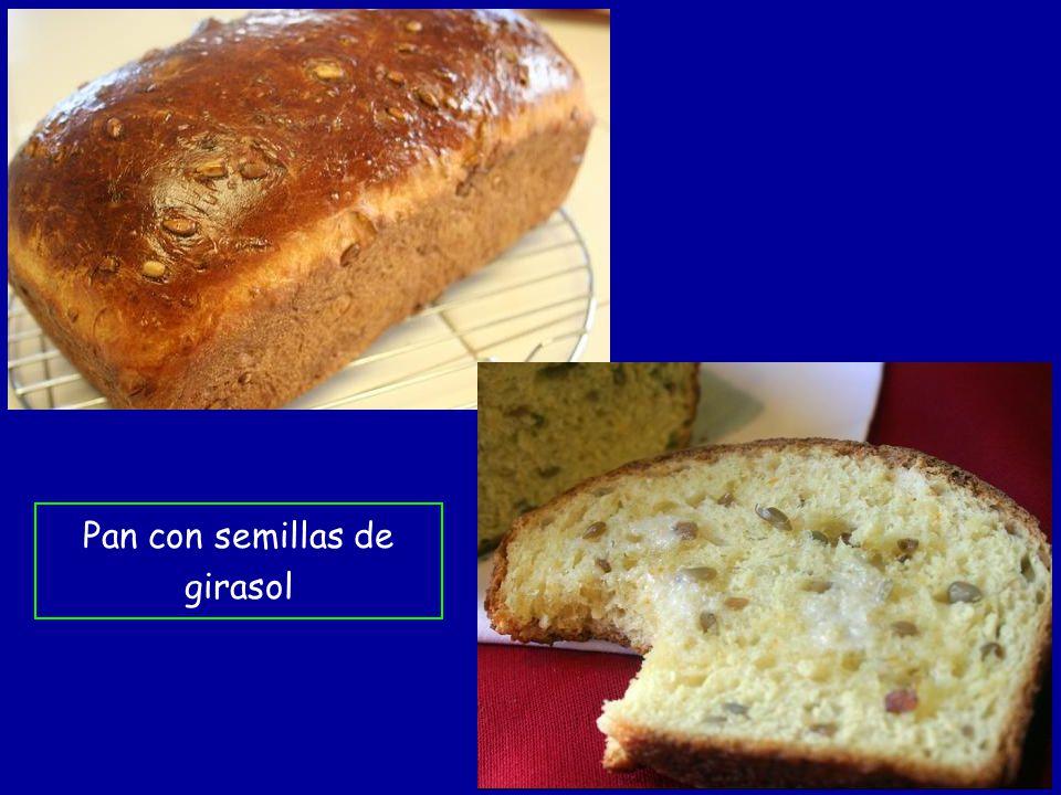 Pan con semillas de girasol