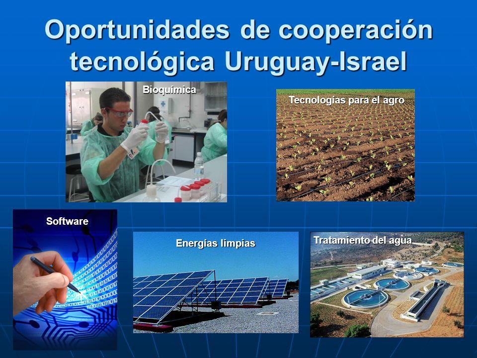 Oportunidades de cooperación tecnológica Uruguay-Israel