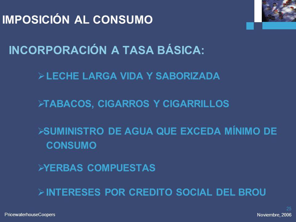INCORPORACIÓN A TASA BÁSICA: