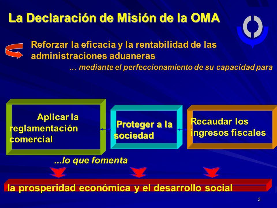 La Declaración de Misión de la OMA