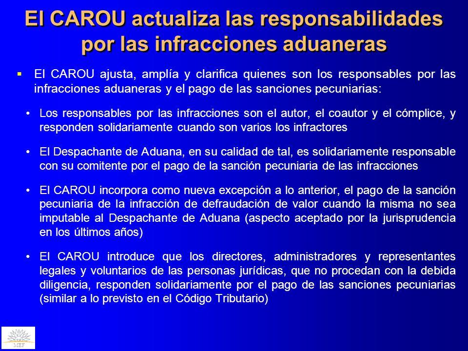 El CAROU actualiza las responsabilidades