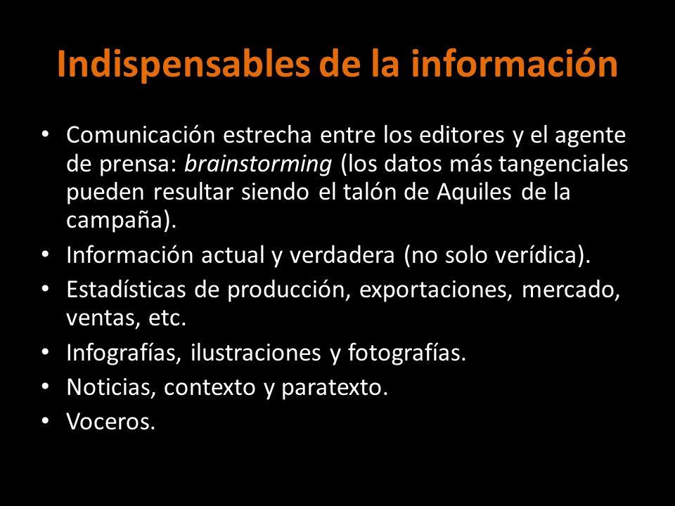 Indispensables de la información