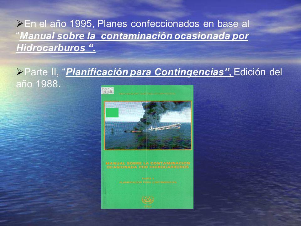 Parte II, Planificación para Contingencias , Edición del año 1988.