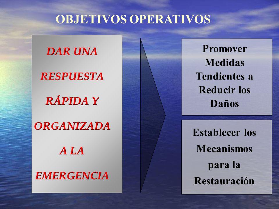 DAR UNA RESPUESTA RÁPIDA Y ORGANIZADA A LA EMERGENCIA