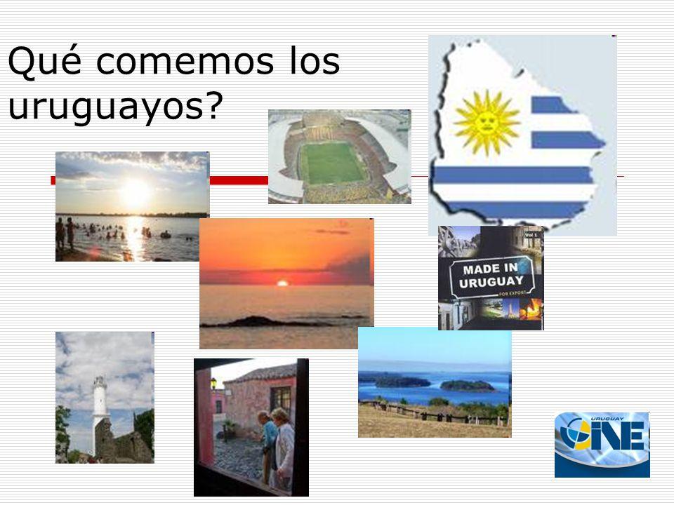 Qué comemos los uruguayos