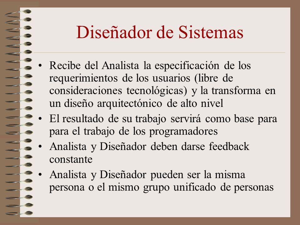 Diseñador de Sistemas